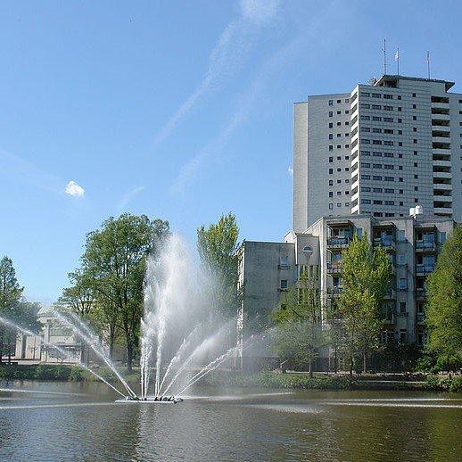 Brunnen in Bremen Neue Vahr