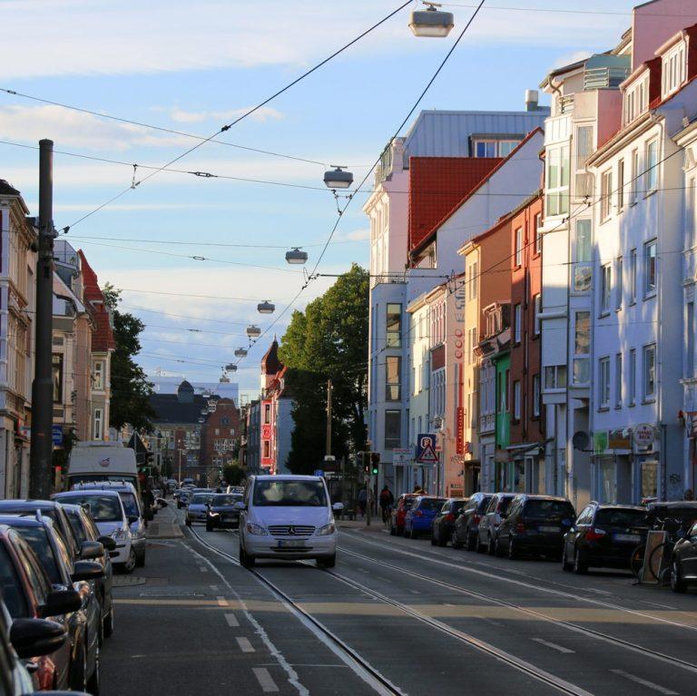Straße in Bremen Neustadt